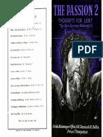 The Passion Lenten Reflection