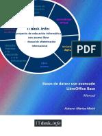 Bases de Datos-uso Avanzado-LibreOffice Base-Manual