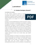 Alzueta Esteban - Inseguridad y Periodismo