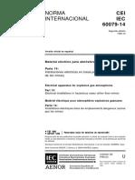 IEC_60079-14_1996 Material Eléctrico Para Atmosferas de Gas Explos