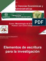 Elementos Dee Scri Tura Investigacion