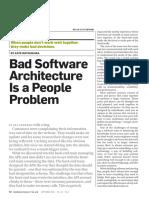 Bad Software