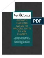 Growth Hacking Productivity by Vincent