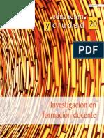 IDEP - Educación y Ciudad No. 20 - Formación Docente