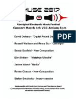 Program Emuse Concert