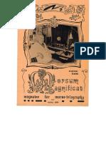 Morsum Magnificat, The Original Morse Magazine-MM07