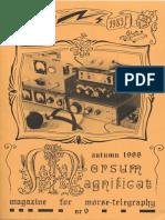 Morsum Magnificat, The Original Morse Magazine-MM09