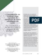 A orientalização do Ocidente como superfície de emergência de novos paradigmas em saúde.pdf