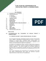 02-4-Esquema Plan de Contingencia Inundacion II. Ee-ejemplo