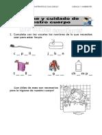 CIENC Y AMBT  I BIM 1er grado.doc