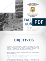 EXPO-FALLA EN CUÑA ppt