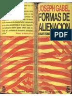 Gabel, Joseph - Formas de Alienación, Ed. Eudecor, 1967