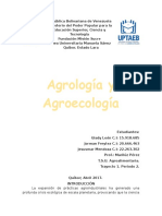 Agrología y Agroecologia Trabajo