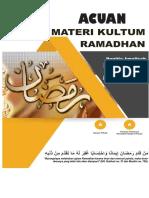 Catatan Ramadhan 1438