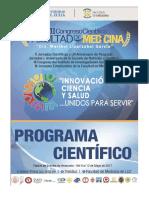 1 Programa Cientifico Vii Congreso Facultad de Medicina