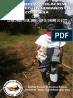 INFORME SOBRE LAS VIOLACIONES A LOS DERECHOS HUMANOS EN COLOMBIA. 29 DE AGOSTO DE 2016 - 29 DE ENERO DE 2017. CNDHH Marcha Patriótica.pdf-1.pdf