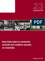 Seis Teiss Para Entender La Evolución Del Conflicto en Colombia. Fundación Ideas Paz
