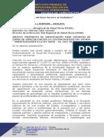 Carta de Invitacion Curso Contrataciones - Disa