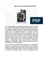 Italy part7 - Military History of Italy During WW II