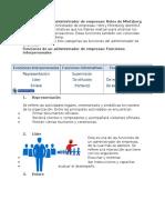 Funciones de Un Administrador de Empresas 1