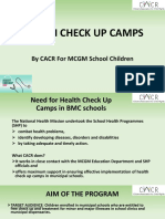 Health Check Up Camps in schools