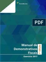 Manual de Demonstrativos fiscais