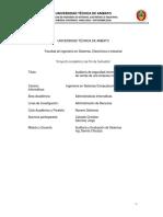Auditoría y Evaluación de Sistemas - Sanchez Freire Jorge Alberto