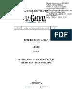 Ley de Tránsito 9078