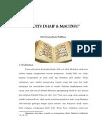 Artikel Hadits Dhaif & Maudhu'.pdf