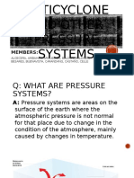 Anticyclone and Other Pressure Systems