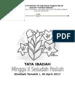 REVISI - TIHM II Sesudah Paskah, 30 April 2017.Docx