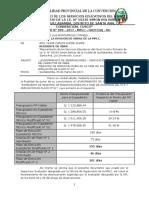 INFORME N° 009-2016 MODIFICACION Y AMPLIACION DE PLAZO N° 02-observaciones