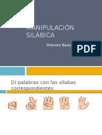 Manipulación Silábica 1° ABCD
