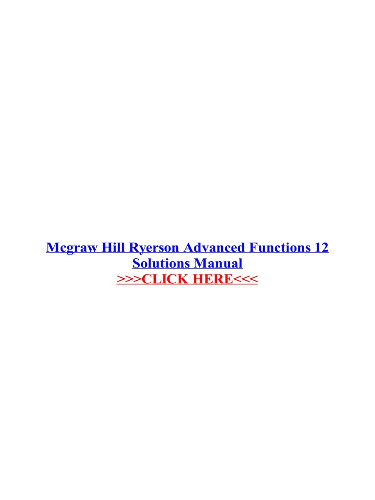 mcgraw hill ryerson advanced functions 12 solutions manual rh scribd com nelson advanced functions 12 solutions manual chapter 9 nelson advanced functions 12 solutions manual chapter 7