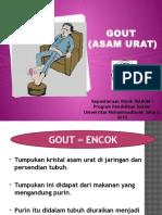 Penyuluhan Gout