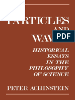 Particles and Waves_ Historical Essays in the Philosophy of Science
