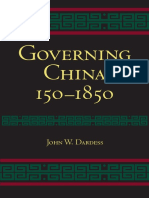 Governing China 150-1850