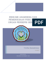 Pemeriksaan Fisik Pada Organ Persepsi Se