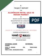 A Project Repot Nalco