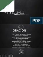 LECTIO-DIVINA-3er Dom Adviento Ciclo a.docx