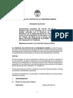 Tribunal Andino Marca Táctil 242-Ip-2015