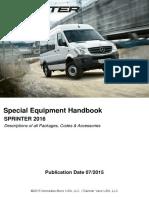 2016 Sprinter Handbook