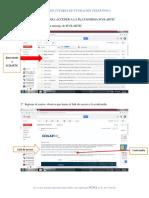 Manual Para Acceder a La Plataforma Scolartic