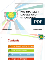 1. Postharvest Losses and Strategies