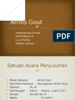 Atritis Gout Ppt