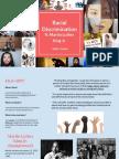 revision profile- racial discrimination   1