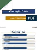 Web Analytics Session 1