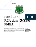Panduan RCA Dan FMEA