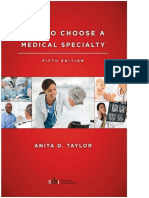 How to Choose a Medical Specialty Fifth Edition 20