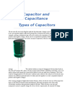 Idea of Capacitance & Capicitor